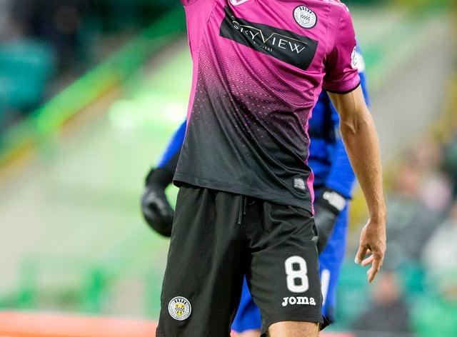 Ryan Flynn was back for St Mirren