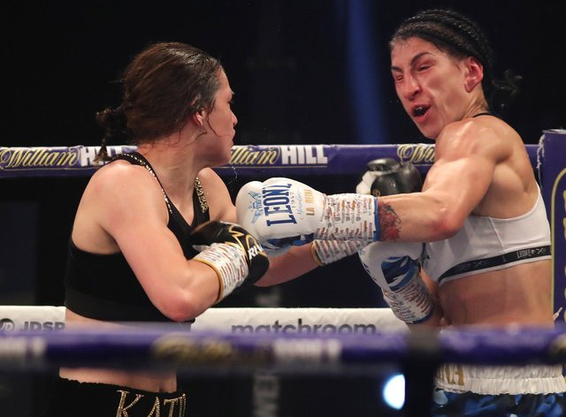 <p>Harper produced a brilliant boxing display before stopping Thanderz in the ninth round</p>