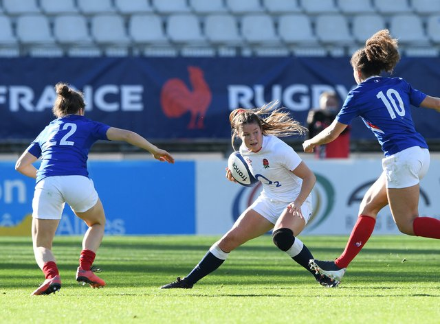England storm to victory against France in Autumn internationals