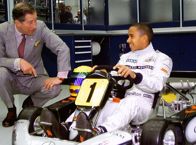 <p>Hamilton won his record-equaling seventh world title last weekend</p>