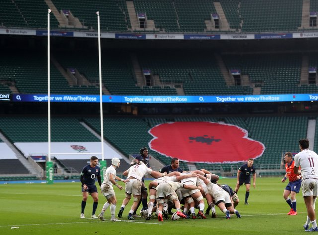England were the biggest winners on the first weekend of the Autumn Nations Cup