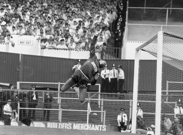 Ray Clemence finished his playing career at Tottenham