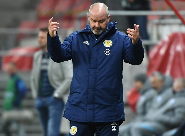Steve Clarke's team fell to defeat in Trnava