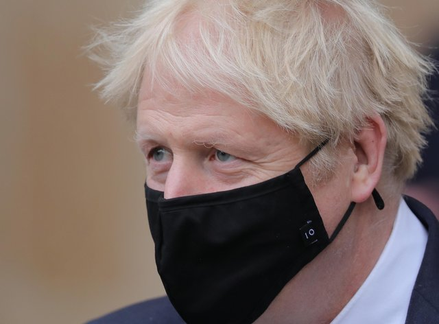<p>Boris Johnson is now self-isolating after coming into contact with the MP</p>