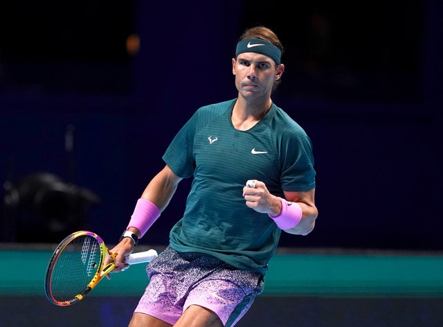 Rafael Nadal eased to victory over Andrey Rublev