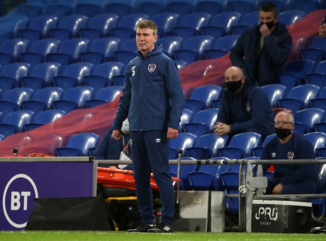 Republic of Ireland manager Stephen Kenny has told his players not to feel sorry for themselves