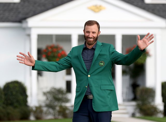 Dustin Johnson is hoping for more major success after his Masters win