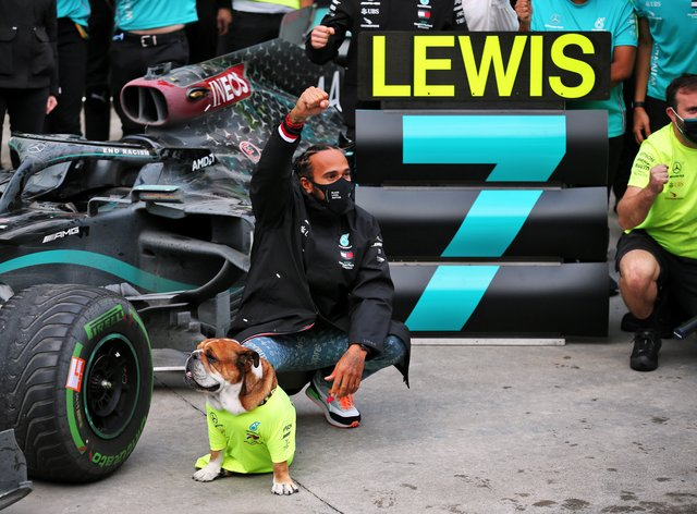 Lewis Hamilton secured his seventh world championship in Turkey