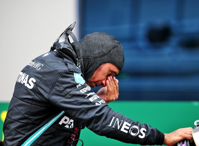 Lewis Hamilton clinched his seventh world championship title