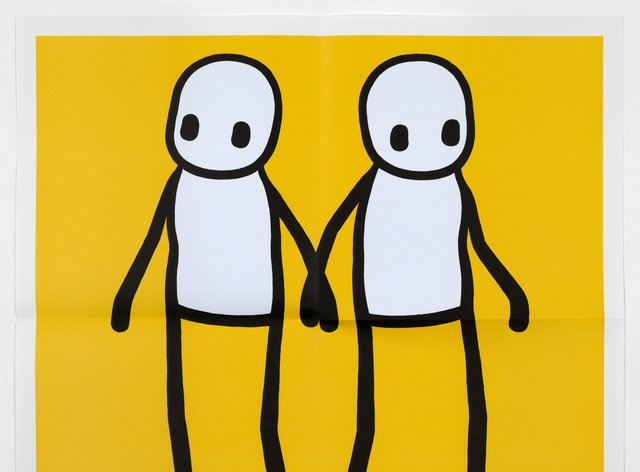 The 'Holding Hands' artwork