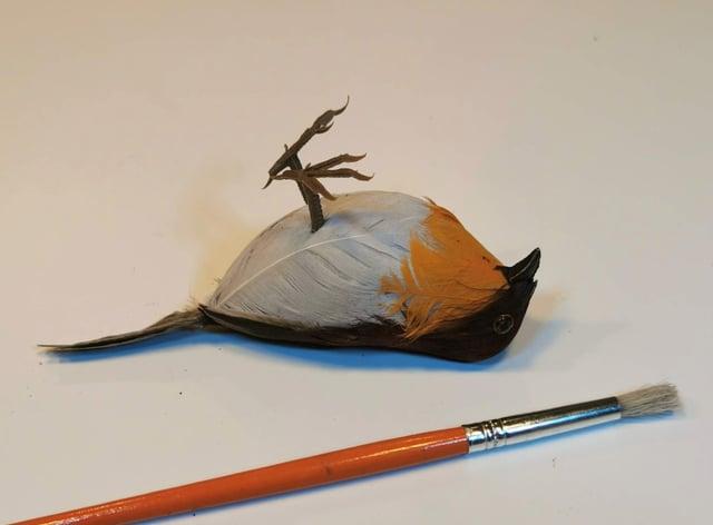 <p>Robin Deadrest's 'A Brush With Death'&nbsp;</p>