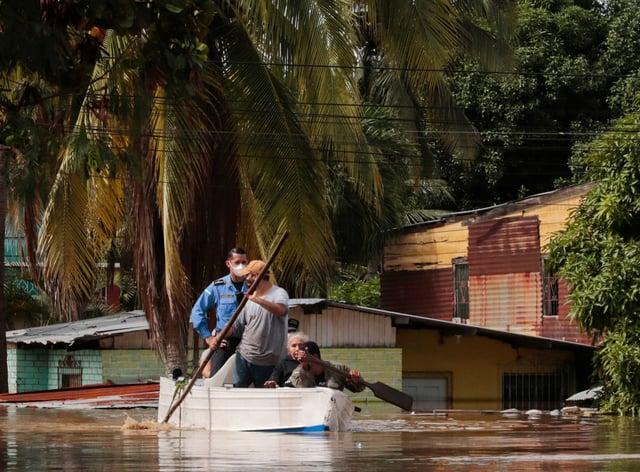 Floods in Honduras