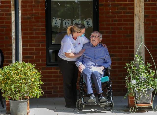 Coronavirus care home visits