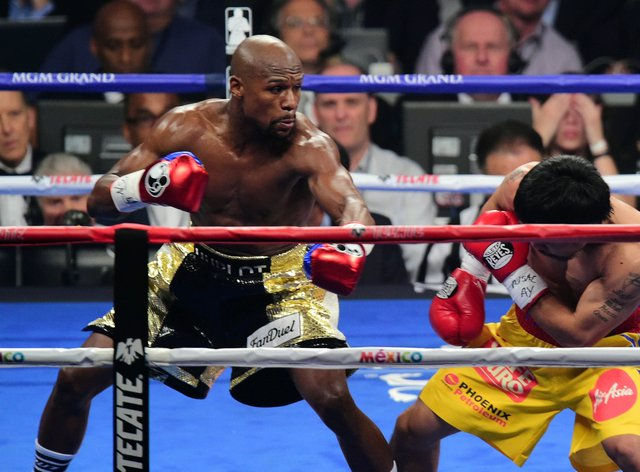 Mayweather is widely regarded as one of the best boxers of all-time