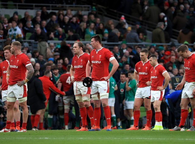 Wales have suffered six successive defeats