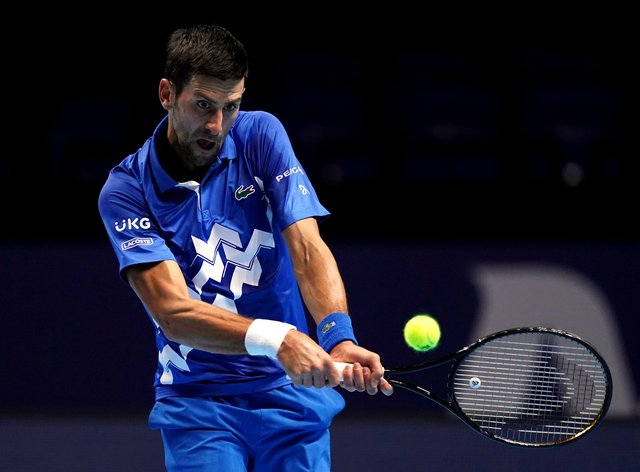 Novak Djokovic powered to victory in his opening match in London