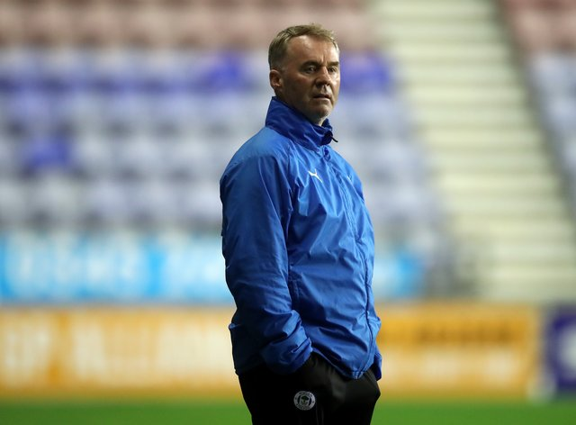 John Sheridan will be in charge of his first home game for Swindon