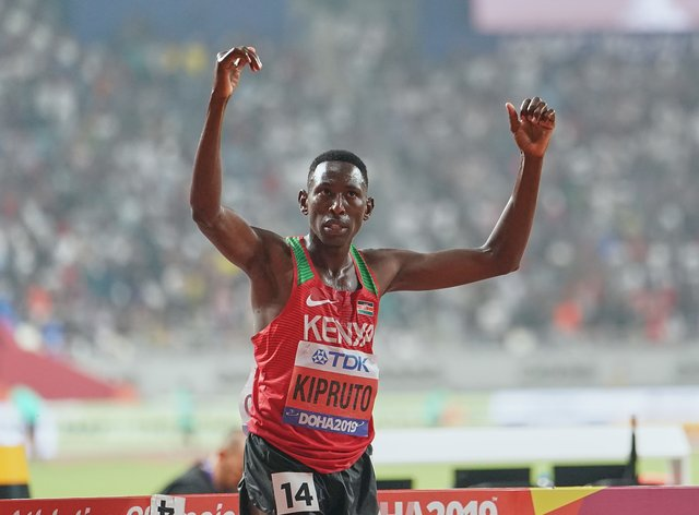 Kipruto could face as many as 20 years in prison if found guity