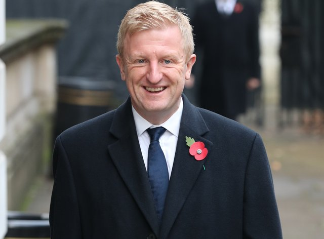 Culture Secretary Oliver Dowden met with football leaders on Tuesday