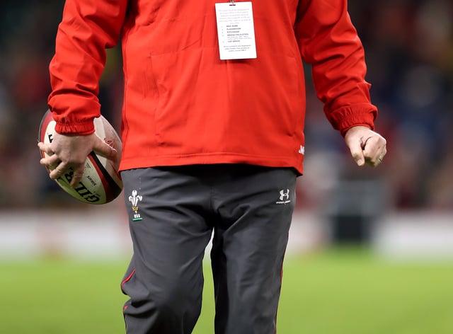 Wales assistant coach Jonathan Humphreys