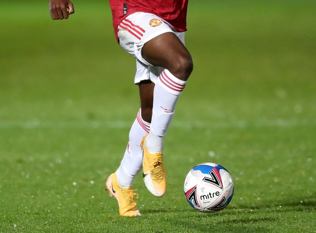 Anthony Elanga is looking to break into the Manchester United first-team