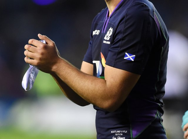 Sam Skinner reckons he is not the only member of the Scotland squad who has grown with confidence in recent months