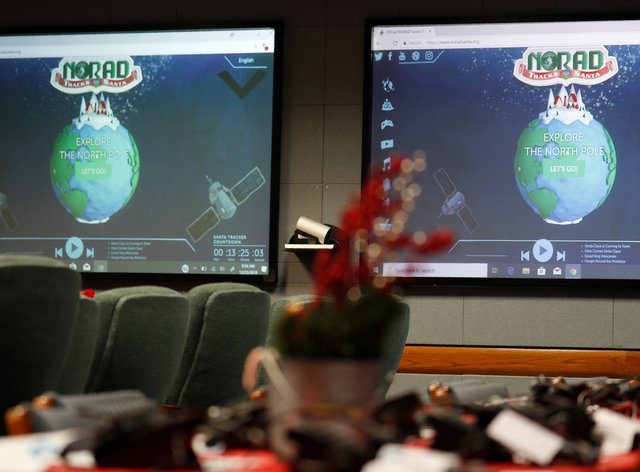 The North American Aerospace Defence Command has announced that Norad will track Santa on December 24