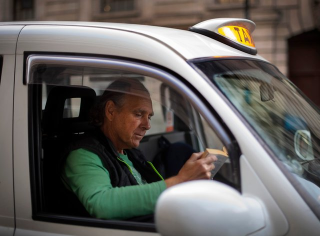 A London taxi driver