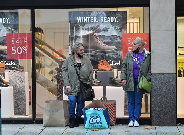Shopping in Cardiff