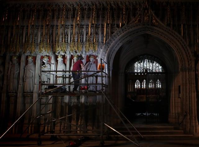 Grand Organ, York Minster
