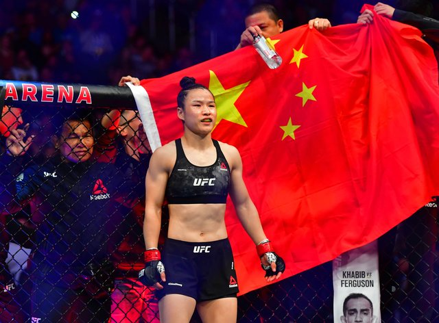 <p>Zhang Weili is set to return to the Octagon in early 2021</p>