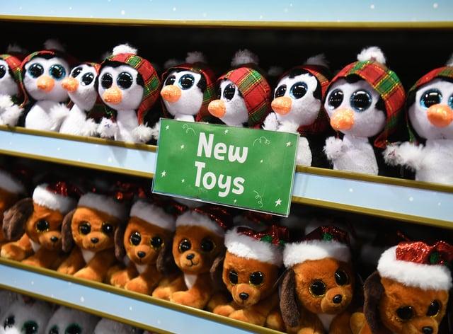 Hamleys festive toys