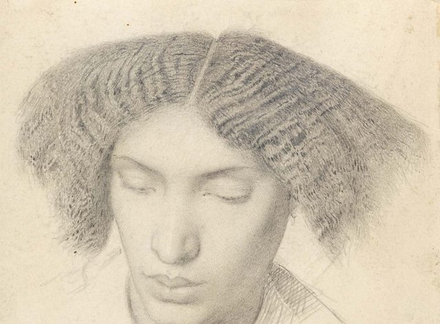 Portrait of Mrs Fanny Eaton, by British artist Simeon Solomon (1840-1905). (Fitzwilliam Museum/ PA)