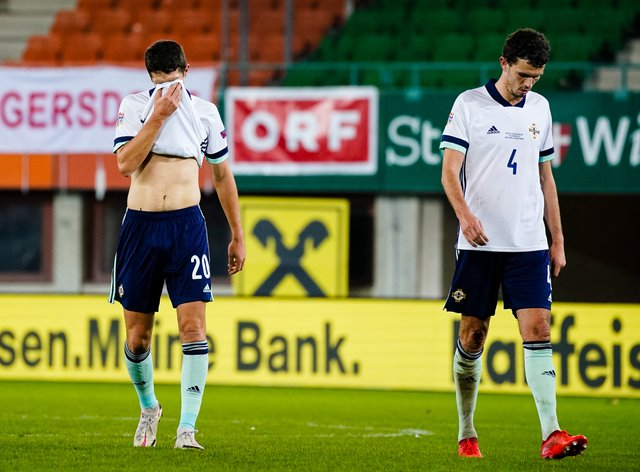 Northern Ireland have suffered relegation from their Nations League group