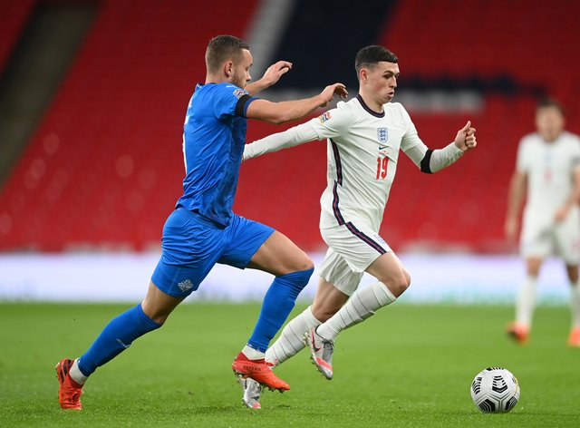 Phil Foden starred for England at Wembley