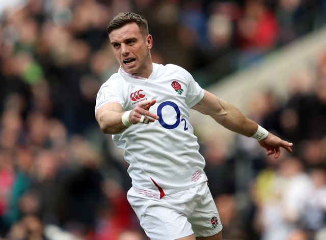 George Ford has returned to full fitness
