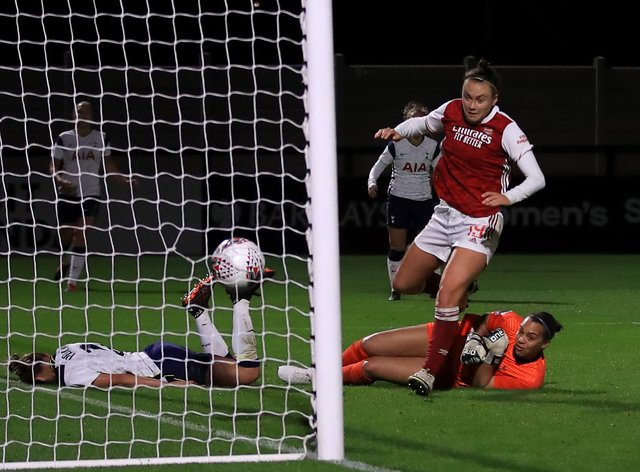 <p>Arsenal drew 2-2 in normal time before winning the penalty shoot-out</p>
