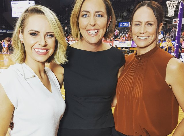 <p>Megan Anderson (right) is excited to take on her new role&nbsp;</p>