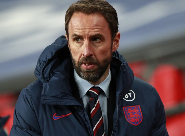 Gareth Southgate will not be able to work with his players until March