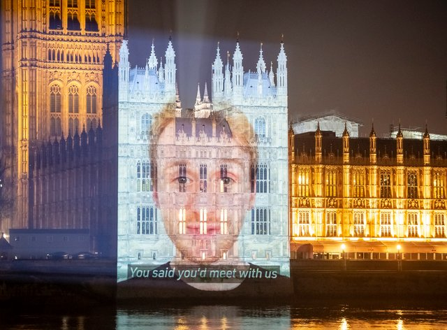 Westminster projection