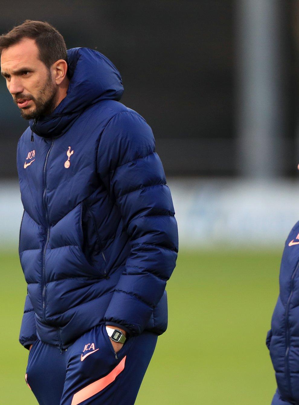 Karen Hills and Juan Amoros leave Spurs