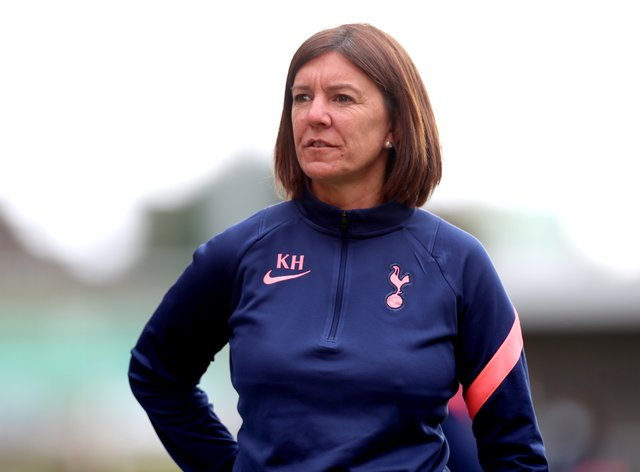 Hills has been sacked by Tottenham