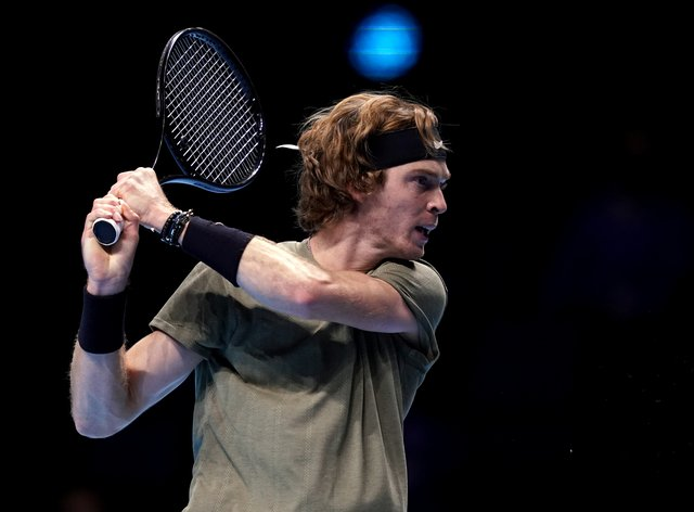 Andrey Rublev powered his way to victory over Dominic Thiem