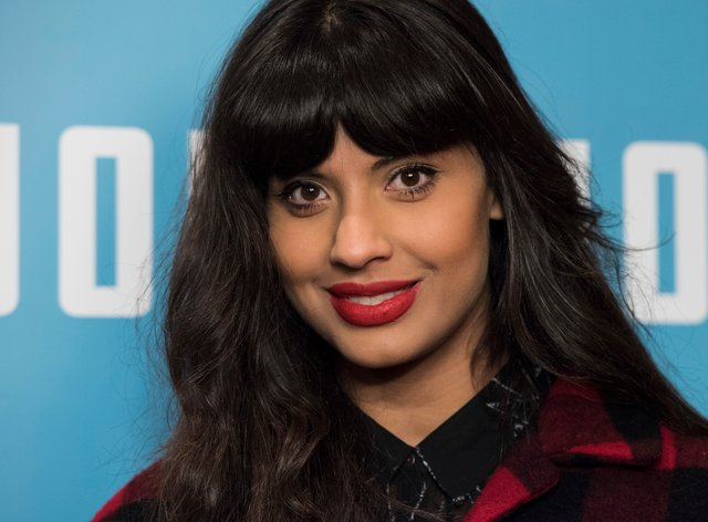 British actress Jameela Jamil