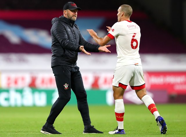 Ralph Hasenhuttl has handed Oriol Romeu a new contract