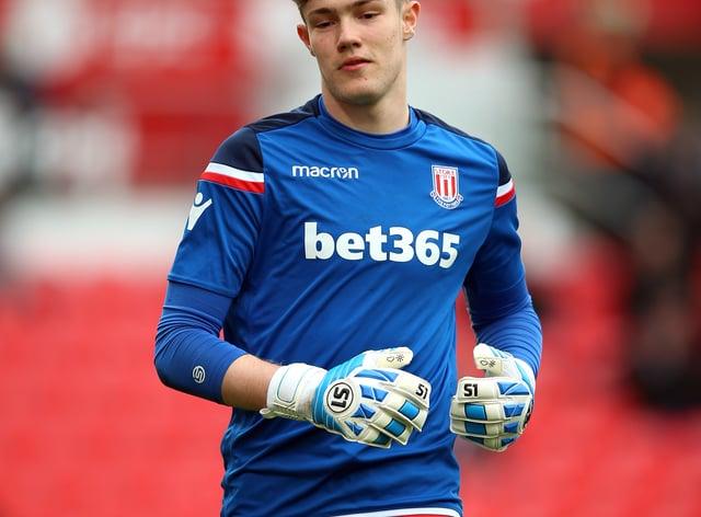 Goalkeeper Joe Bursik is in line for his Stoke debut this weekend