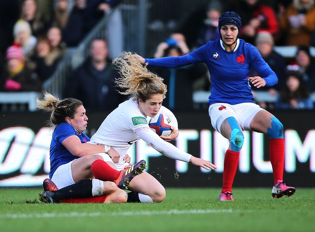 England will face France in their pool