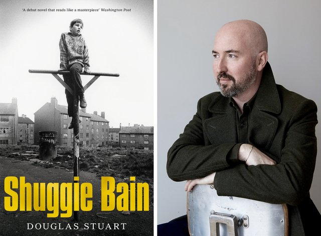 Shuggie Bain and author Douglas Stuart