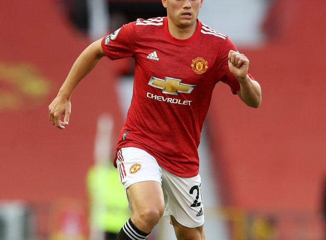 Daniel James is hoping to show his Wales form at Manchester United