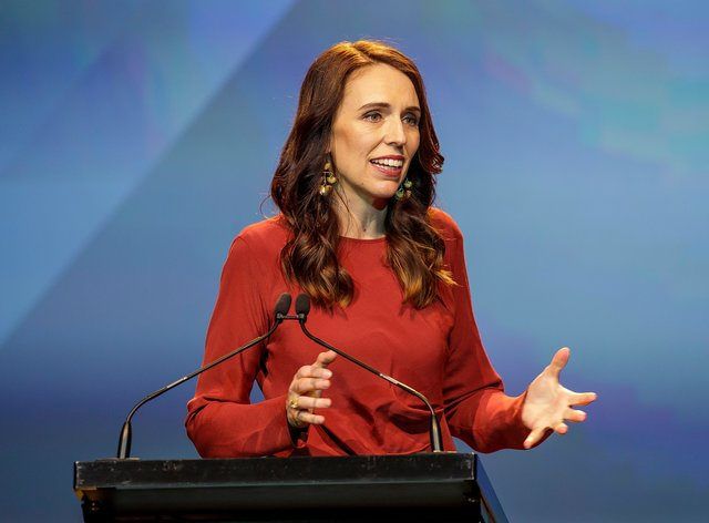 Ardern was speaking at the 2021 Rugby World Cup draw